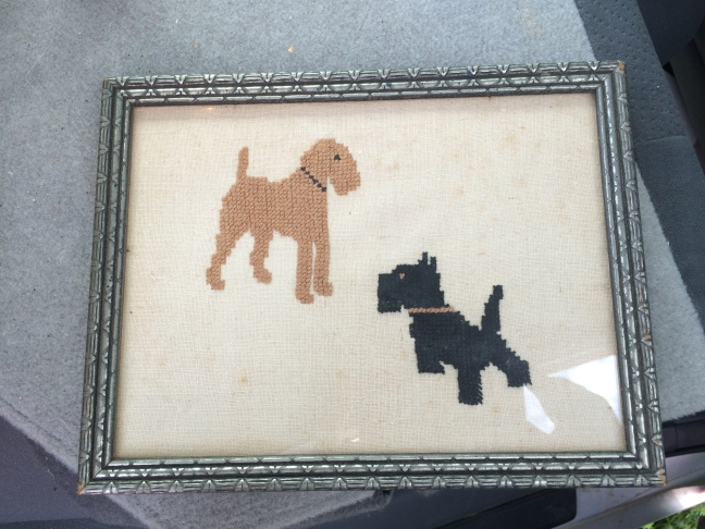 Terrier needlepoint