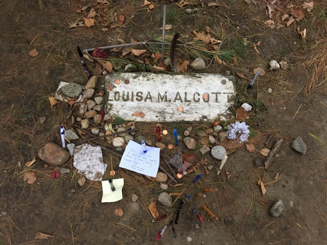 Grave of Louisa May Alcott, Sleepy Hollow Cemetary, Concord, MA